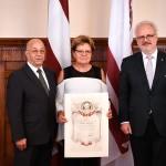 Ata Kronvalda balvas saņēmēja - Vaira Strazda