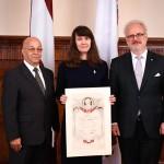 Ata Kronvalda balvas saņēmēja - Diāna Siliņa