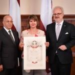 Ata Kronvalda balvas saņēmēja - Tatjana Alika